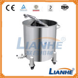 Sanitary Grade Storage Tank for Cream/Lotion/Liquid