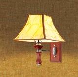 Villa Bedroom Chrome Red Paint Wall Light (KAMC1681)