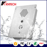 Knzd-37 Vandal Resistant Intercom Flushed Mounting for Apartments Emergency