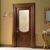 Solid Wood Door with Glass (DS-942)