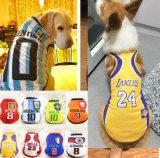 Fashion Sports Dog Jersey Pet NBA Tee for Large Pets