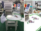 Single Head 15 Needles Computer Embroidery Machine for Cap, T-Shirt, Flat, Bags, Logo, 3D, Shoes, Sequin, Cording and Beads Embroidery Made in China Prices