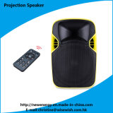 Plastic 12 Inches Speaker Box with LED Projector and Screen