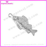 Vintage Double Sided Fish Antique Jewelry Finding Charms
