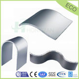 Curved Aluminum Honeycomb Panels for Decorative Wall Panel