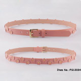 2017 New Fashion Pink Flower Belt