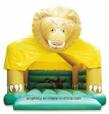 Lion Inflatable Bouncer and Slide