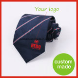 Customize Silk Mens Woven Logo Woven Ties