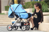 Luxury Baby Stroller High-View Inflatable Anti-Shock, Newest Design Pushchair Baby Strollers