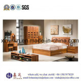 China Factory King Size Bed Wooden Bedroom Furniture (SH-014#)