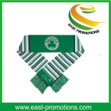 Promotional 100% Acrylic Knitted Jacquard Football Fan Scarf