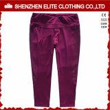 Cheap Fashion Trendy Burgundy Yoga Pants Womens (ELTLI-107)
