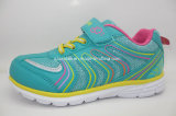 Colorful Children′s Fashion Sport Mesh Runing Shoes 16248