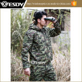 Russia Jungle Tactical Men′s Hunting Camping Fleeces Military Coats Jacket