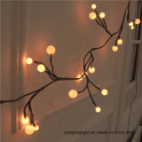 High Quality Festival Warm White Ball LED String Light Low Voltage for Decoration