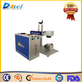Portable Mopa Fiber Laser Marking Machine Laser Marker with Laser Source