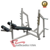 Fitness Equipment Olympic Flat/ Incline/ Decline Bench for Gym Commercial Use