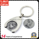 Zinc Alloy Shopping Trolley Token Coin Holder for Gifts