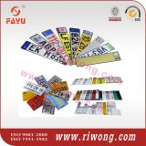 Customized Embossed Car License Plates with Raised Letters