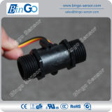 Black and White Plastic Crystal Water Flow Sensor