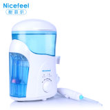 Dental Pick Water Oral Irrigator Teeth SPA Unit Professional Floss 7PCS Jet Tip 600ml Water Tank