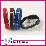 Multicolor Color Promotion Silicone Bracelet (CP-JS-DW-003)