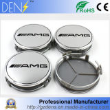 75mm Amg Car Logo Chrome Wheel Center Hub Cap