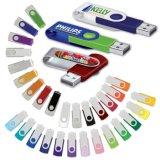 8 GB Metal Swivel Cover Flash Drive (PM013)