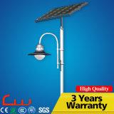 15W Lamp Head 3m Decorative Post Solar Garden Light