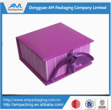 Lucxury Clothing Packaging Clamshell Book Box with Ribbon