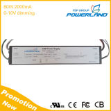 20-40V Output 80W 2000mA Cc Dimming LED Driver Wtih UL Certificate