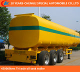 45000liters Tri-Axle Oil Tank Trailer, Fuel Tank Semi Trailer