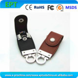 Customized Logo Leather Memory Stick Flash USB Drive for Promotion (EL028)