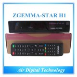 Original Designed Set Top Box Satellite&Cable TV Box Zgemma Star H1 DVB S2 + DVB C