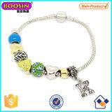 Fashionable Alloy Metal Enamel Beads Bracelet #Scb007