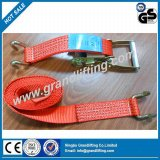 Cargo Lashing Load Restraints Polyester Ratchet Tie Down Strap