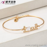 New Xuping Fashion 18k Gold Pretty Heart-Plated Cubic Zirconial Bangle