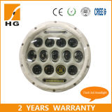 75W LED Headlight 4D 7inch LED Work Light with DRL