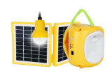 Power Solution Qualified 4500mAh/6V Solar Rechargeable Lantern with Mobile Phone Charger
