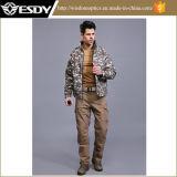 Outdoor Sports Softshell Waterproof Windproof Jacket Military Tactical Commander Coat