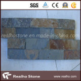 Rusty Yellow Culture Stone Slate for Wall Cladding and Roofing