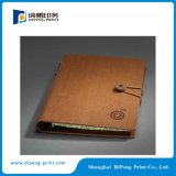 PU Cover Notebook with Special Lock