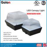 2015 Manufacturer Gas Station Light 90W 75W 60W 40W LED Canopy Light with UL 5 Years Warranty