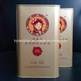 1L Tin Can for Packaging Olive Oil