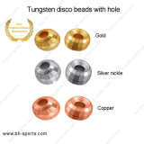 Tungsten Disco Beads with Hole 08A-301