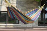Backyard Easy Cotton Hammock with Hanging System