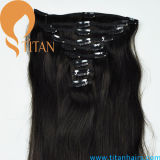 100% Remy Brazilian Virgin Hair with Clip in Hair Extensions
