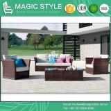 Outdoor Sofa Set Patio Furniture Set Rattan Furniture Garden Sofa Set 2-Seat Sofa Set (Magic Style) Foshan (Norway Sofa Set)