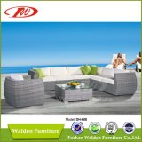 Rattan Sofa Bed, Gorgeous Patio Sofa (DH-608)
