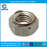 Size M6 DIN929 Stainless Steel Hexagon Weld Nut